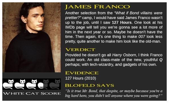 James F Bond